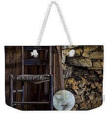 Old Banjo Weekender Tote Bag by Heather Applegate