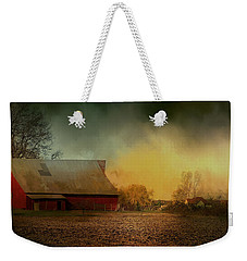 Old Barn With Charm Weekender Tote Bag