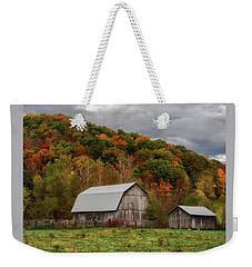 Old Barns Of Beauty In Ohio  Weekender Tote Bag