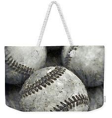 Old Baseballs Pencil Weekender Tote Bag