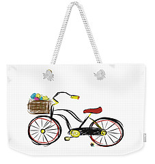 Old Bicycle Weekender Tote Bag