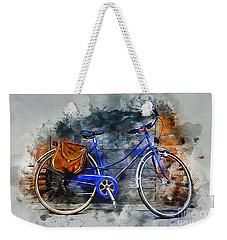 Old Bicycle Weekender Tote Bag