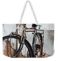 Old Bike II Weekender Tote Bag