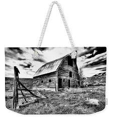 Old Black And White Barn Colorado. Weekender Tote Bag