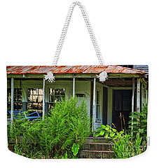 Old Blue Swing Weekender Tote Bag