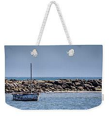 Old Boat - Half Moon Bay Weekender Tote Bag