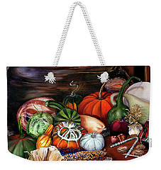 Old Bowl Cornucopia Weekender Tote Bag