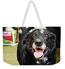 Weekender Tote Bag featuring the photograph Old Boy by Naomi Burgess