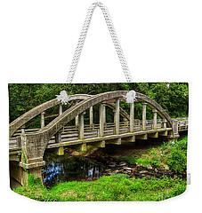 Old Bridge Central Virginia Weekender Tote Bag by Melissa Messick