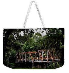 Old Bridge To Town Weekender Tote Bag