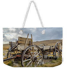 Old Buckboard Wagon Weekender Tote Bag