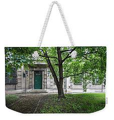 Old Building Exterior Weekender Tote Bag by Teemu Tretjakov