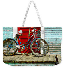 Old Bicycle. Warren, Vermont Weekender Tote Bag