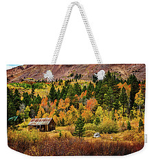 Old Cabin In Hope Valley Weekender Tote Bag