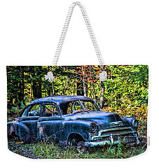 Old Car Weekender Tote Bag