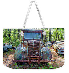 Old Car Smile Weekender Tote Bag