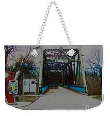 Old Chain Of Rocks Bridge Weekender Tote Bag