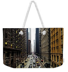 Old Chicago Skyscrapers 1890's Weekender Tote Bag