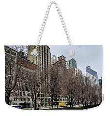 Old Chicago Skyscrapers Weekender Tote Bag