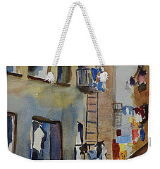 Old Chinatown Lane Weekender Tote Bag by Tom Simmons