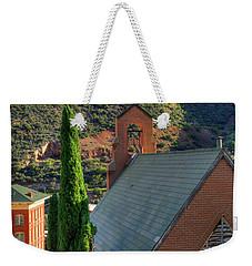 Old Church In Bisbee Weekender Tote Bag
