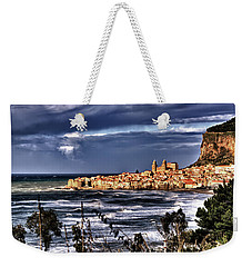 Old Coastal City  Weekender Tote Bag