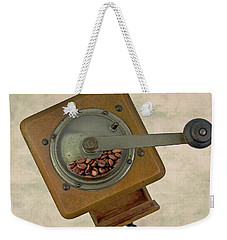 Old Coffee Grinder Weekender Tote Bag