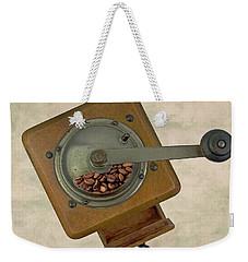 Old Coffee Grinder Weekender Tote Bag