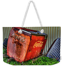 Old Coke Box Weekender Tote Bag