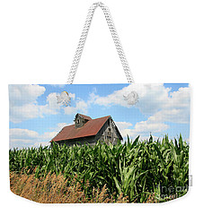 Old Corn Crib Weekender Tote Bag