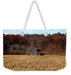 Old Country Barn In Autumn #1 Weekender Tote Bag