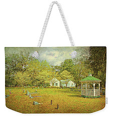 Weekender Tote Bag featuring the photograph Old Country Church by Lewis Mann