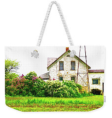 Old Country House Weekender Tote Bag by Susan Crossman Buscho