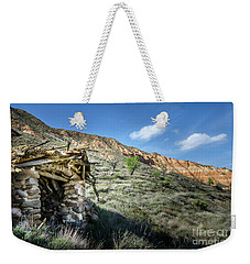 Weekender Tote Bag featuring the photograph Old Country Hovel by RicardMN Photography