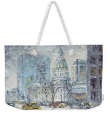 Old Courthouse From N 4th St. St.louis Weekender Tote Bag