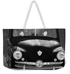 Old Crosley Motor Car Weekender Tote Bag