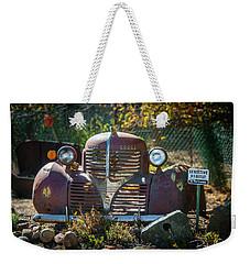 Old Dodge Rust Bucket Weekender Tote Bag