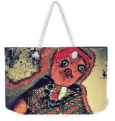 Old Doll Weekender Tote Bag