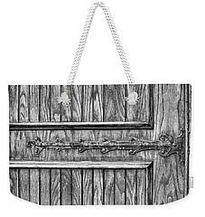 Old Door Detail Weekender Tote Bag