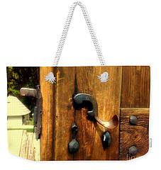 Old Door Handle Weekender Tote Bag