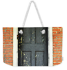 Old Door Weekender Tote Bag by Zawhaus Photography