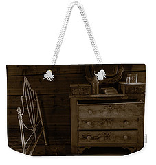 Old Dresser And Bed Weekender Tote Bag