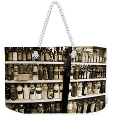 Old Drug Store Goods Weekender Tote Bag