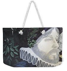 Weekender Tote Bag featuring the painting Old Englishman by Bernard Goodman