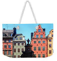 Old European Architecture Weekender Tote Bag by Teemu Tretjakov