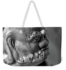 Old Face, Statue Weekender Tote Bag