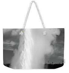 Weekender Tote Bag featuring the photograph Old Faithful by Colleen Coccia