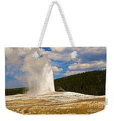 Weekender Tote Bag featuring the photograph Old Faithful by Robert Pearson