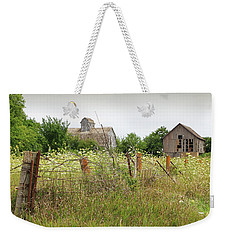 Weekender Tote Bag featuring the photograph Old Farm Iowa by Christopher McKenzie