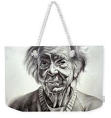 Old Farm Lady Weekender Tote Bag